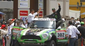 Peterhansel 10e in Dakar 2012