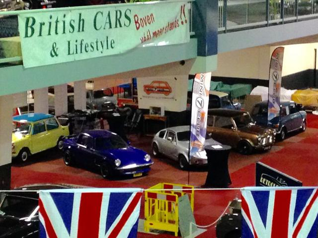 British Cars & Lifestyle stand 2016